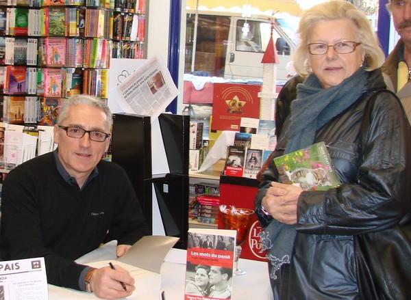 Jean Michel Denis à l'espace presse librairie Ballansat